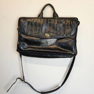 VTG Leather Briefcase / Work Bag